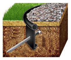 Landscape Edging Metal by Best 25 Grass Edging Ideas On Pinterest Landscaping Edging