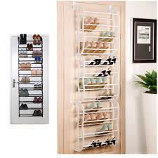 closet storage rack 12 shelf organizer door and wall hanging