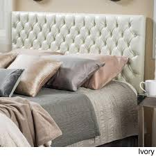 Cheap Leather Headboards by Awesome Tufted Leather Headboard Kscott Info