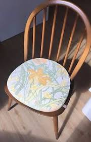 Ercol Dining Chair Seat Pads 2 Ercol Original Seat Cushions To Fit Ercol Dining Chairs
