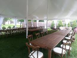 Table And Chair Rental Chicago Indestructo Tent Rental Inc
