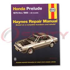 honda prelude haynes repair manual 2 0 si 4ws base shop service