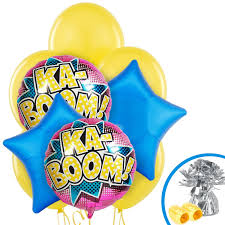 superhero balloon bouquet girls superhero and balloons