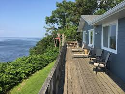 waterfront beach house amazing water homeaway sound beach