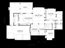 Home Floor Plans Mn Mascord House Plan 1324 The Lenhart
