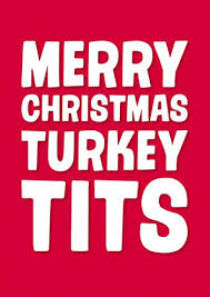 Funny Merry Christmas Memes - merry christmas turkey tits rude christmas card https www