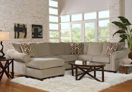 Sectional Sofas Rooms To Go by Lago Vista Platinum 2 Pc Sectional Living Room Sets Beige