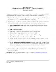 sample invitation letter for visa sample invitation letter for visitor visa friend invitation librarry