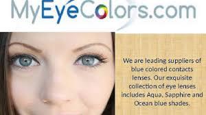 colored contact lenses prescription