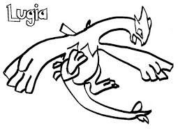 lugia pokemon is flying coloring pages bulk color