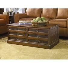 trunk coffee table set trunk coffee table sets you ll love wayfair