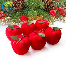 apple ornaments tree ornaments