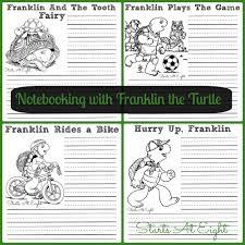 notebooking franklin turtle startsateight