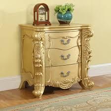 Dynamic Home Decor Braintree Ma Us 02184 Meridian Furniture Zelda Ns Zelda Night Stand In Ornate Rich Gold