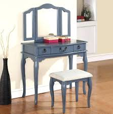 Lighted Vanity Table With Mirror And Bench Appealing Vanity Desk With Mirror For Home Design Table And Bench