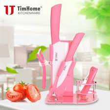 pink kitchen knife set creepingthyme info