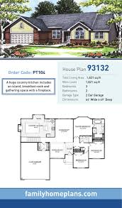 House Plans Farmhouse Country Country Farmhouse Ranch House Plan 74834 Luxihome
