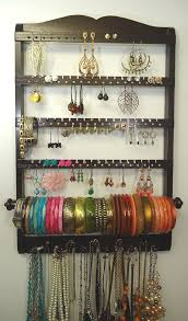earring holder necklace images Necklace and earring holder best 25 bracelet holders ideas on jpg