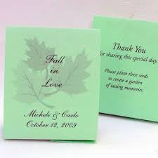 Mint Green Wedding Mint Green Wedding Seed Favors Plant A Memory Favors U0026 Gifts