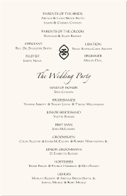 traditional wedding program american wedding programs adinkra wedding program wording