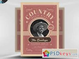 template flyer country free country night flyer template v1 free download photoshop vector