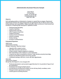 Resume Typing Services Sample To Make Administrative Assistant Resume