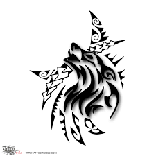 tattoo of tribal wolf strength passion tattoo custom tattoo