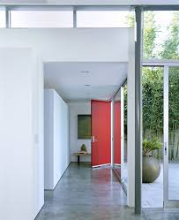 modern glass front door los angeles best way to concrete entry modern with sliding doors