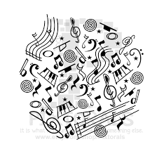 American Flag Doodle Music Doodle Png Transparent Background Eps File And