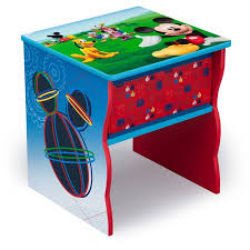 disney mickey mouse side table with storage walmart com