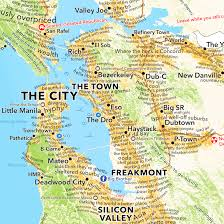 map of ta bay san francisco bay area map according to dictionary boing