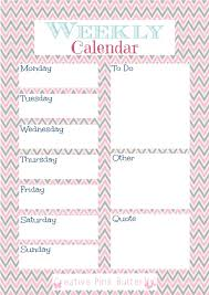 printable january 2016 weekly planner printable weekly calendars weekly calendar template