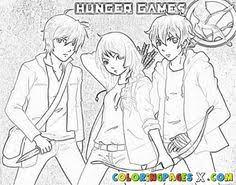 the hunger games coloring pages book hunger games gaming and books