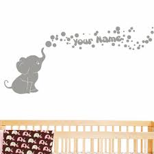 90 best cute baby names images on pinterest 13 personalized wall online get cheap elephant nursery sticker bubbles aliexpresscom personalized custom vinyl wall decals for nursery