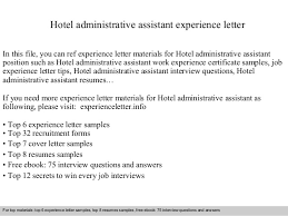 cover letter sample administrative assistant administrative