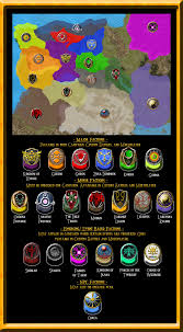 Map Of Hyrule Hyrule Total War Factions By Undyingnephalim On Deviantart