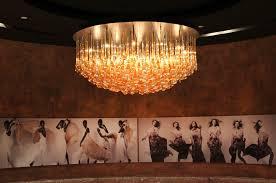Chandelier Dubai Contemporary Ceiling Light Brass Halogen Hyatt By Hba Dubai
