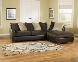 Excellent Microfiber Sectional Sofa Ashley Furniture For Small