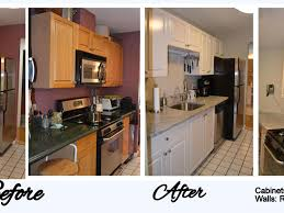 Cost Of Refacing Kitchen Cabinets by Kitchen Doors Appealing Kitchen Refacing Before And After