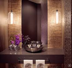 Powder Room Sink Modern Powder Room With Quartz Countertop U0026 Pendant Light Zillow