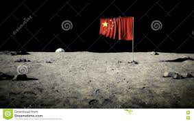 Picture Of Flag On Moon China Flag On The Moon Stock Video Image Of 1920x1080 79481749