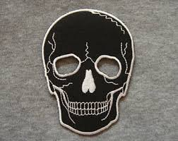 skull patch etsy