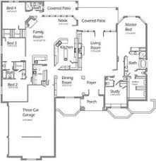House Plans With 4 Bedrooms I Love This House Layout Open Floor Plan Split Plan Jack N Jill