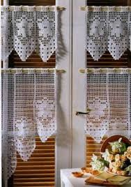 Crochet Lace Curtain Pattern Link To Free Crochet Curtain Pattern Don U0027t Like The Multi Colour