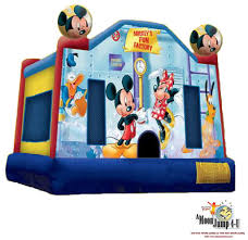 mickey mouse clubhouse bounce house rent mickey mouse clubhouse moon jump in chicago il inflatables