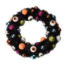 eerie eyeball wreath halloween craft ideas