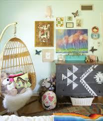 Hanging Chair For Girls Bedroom by Kids Decorating Ideas Mexican Boho Girls Bedroom With A Hanging