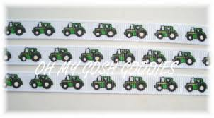 deere ribbon deere grosgrain ribbon 38 scrapbooking tractor big