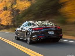Porsche Panamera Brown - 2017 porsche panamera turbo color volcano grey us spec rear