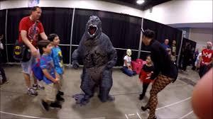 comic con 2017 best costume godzilla youtube